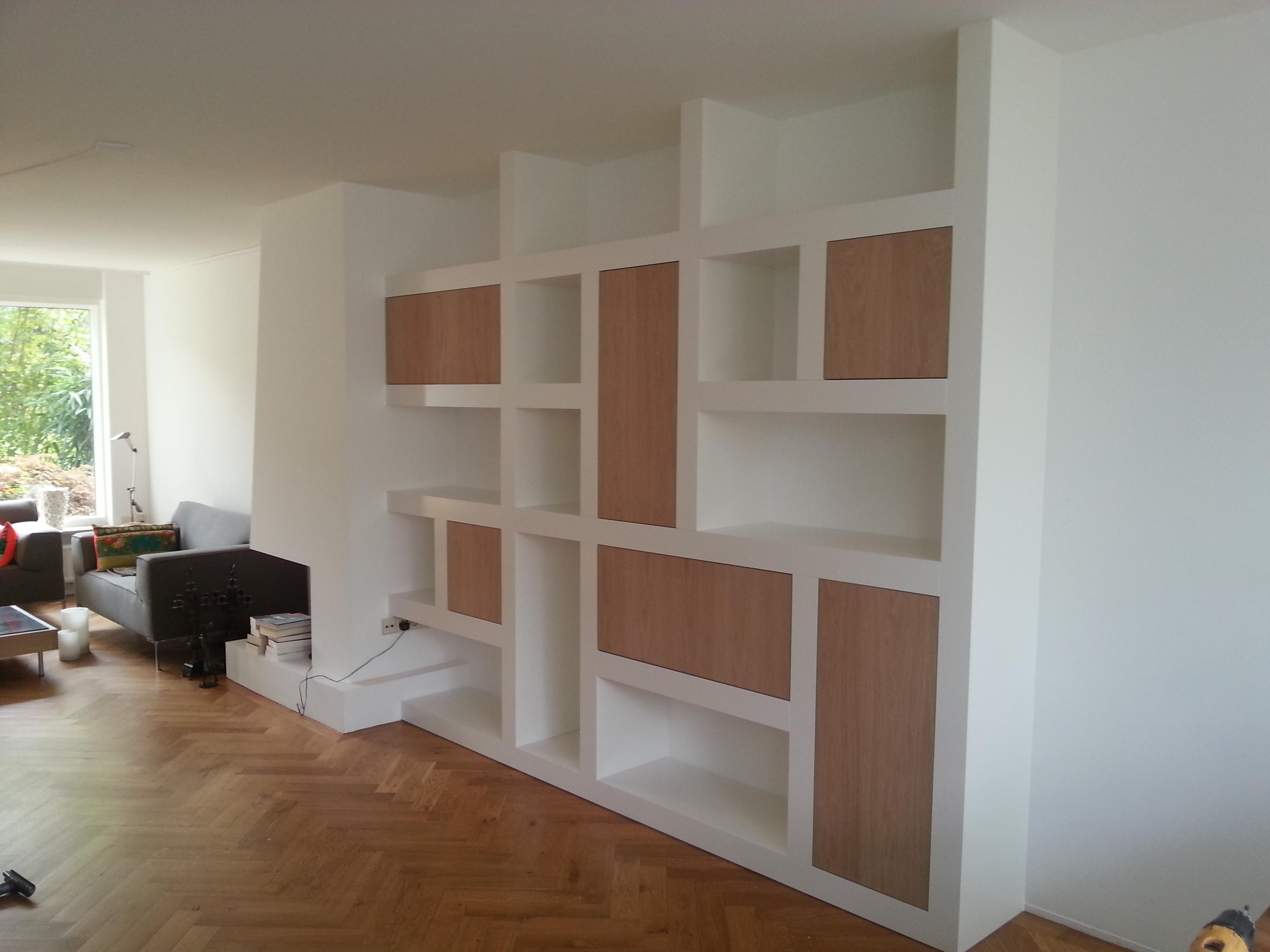 Boekenkasten Opmaat Rimo Interieurdesign