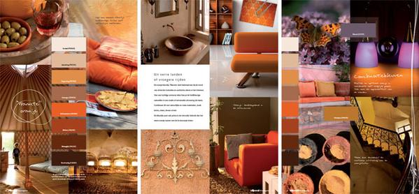 Nieuwe trends for Interieur kleurencombinaties