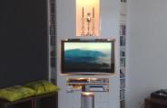 audio meubel hg wit plaatmateriaal