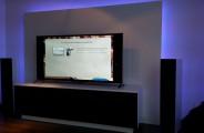 audiomeubel met RGB led verlichting