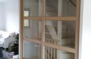 mdf schuifdeuren met veiligheid glas