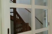 schuifdeuren voor trap opening