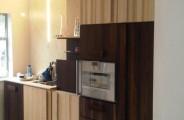 massief houten keuken eigen ontwerp,
