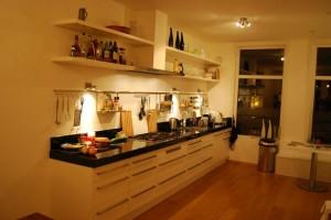 maatwerk keuken Amsterdam werkblad 80 mm composiet