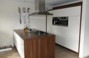 maatwerk keuken apparatuurwand en kookeiland