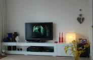 gespoten lage audio meubel