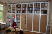 boekenkasten met eiken gefineerde deuren