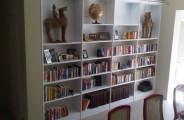 boekenkast gespoten