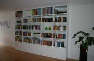 boekenkast met onderkasten en lades
