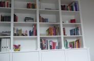 gespoten boekenkast
