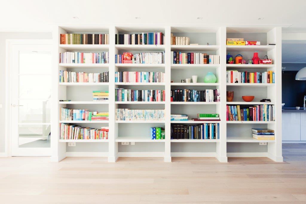 Boekenkasten opmaat | RIMO Interieurdesign