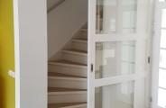 schuifdeur voor trappenkast