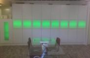 wandmeubel opbergkasten ( voorzien van RGB led)
