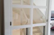 schuifdeuren hoogglans gespoten woonkamer