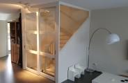 trap ombouw met maatwerk schuifdeuren