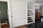 schuifdeur voor open trap en trap kast