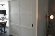 schuifdeur voor open trap en trap kast dichte deuren