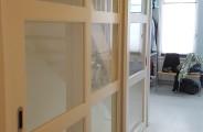 schuifdeuren voor open trap